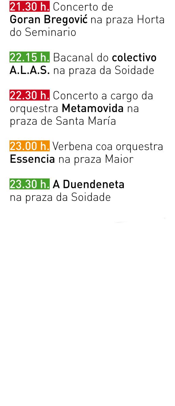 Programa San Froilán 2017 - Mércores 06