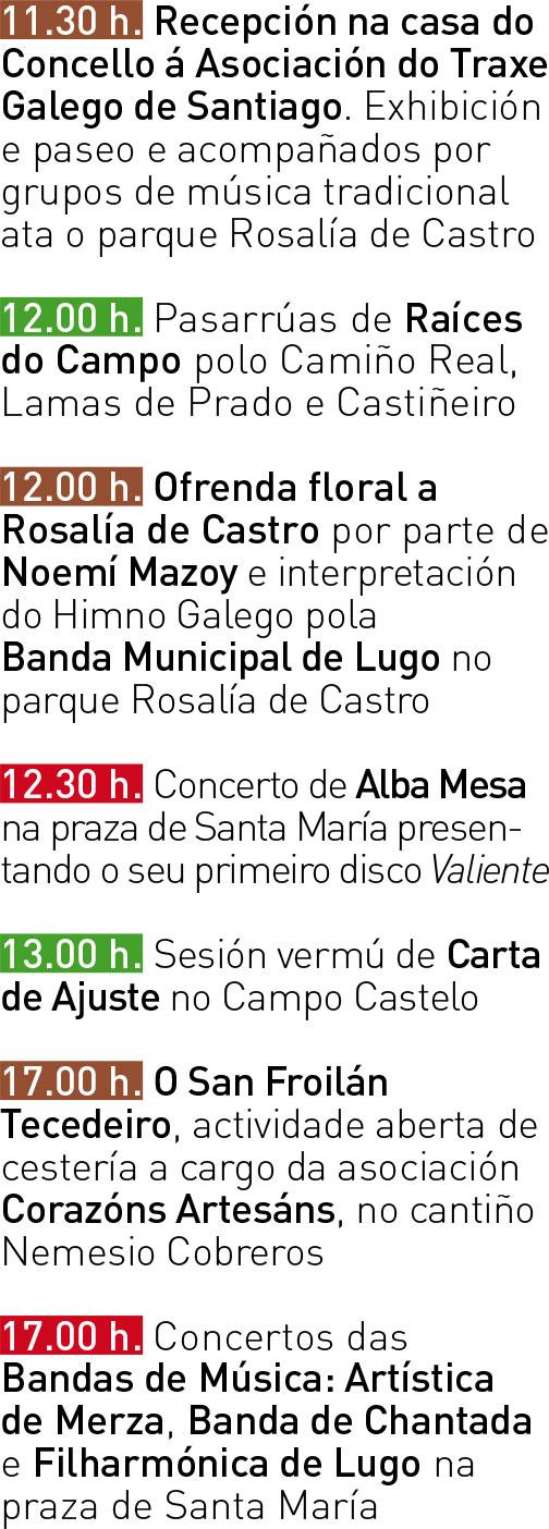Programa San Froilán 2017 - Domingo 08
