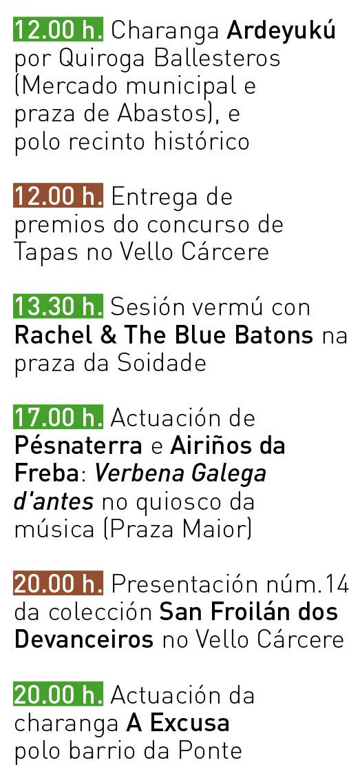 Programa San Froilán 2017 - Venres 06