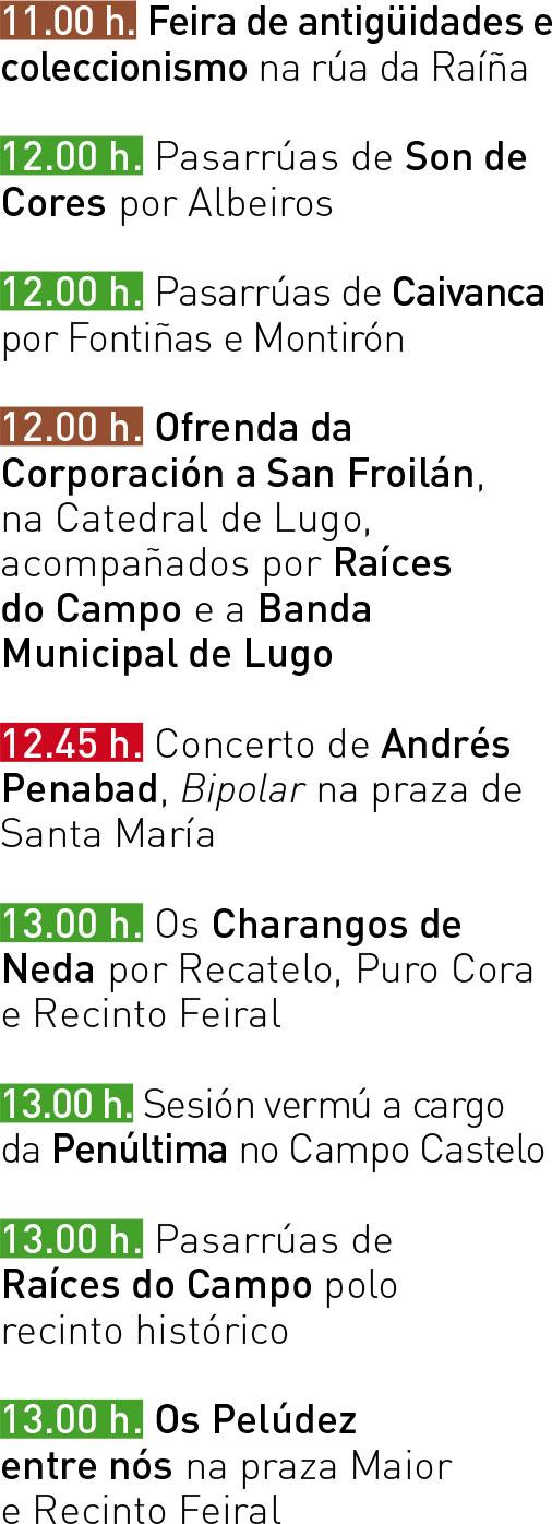 Programa San Froilán 2017 - Xoves 05