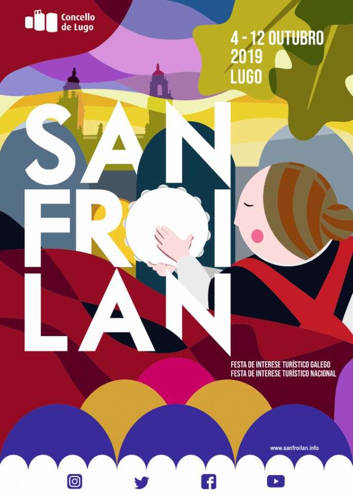 Festexando aínda que chova, cartel anunciador do San Froilán 2019