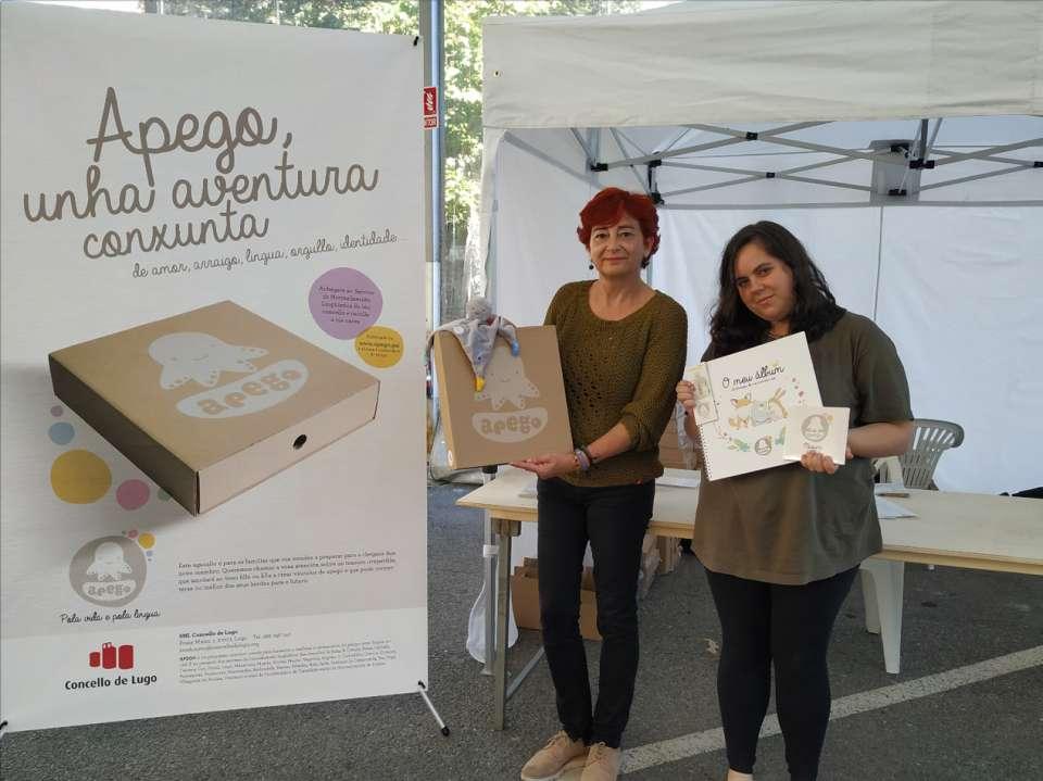 O Concello relanza durante o San Froilán o proxecto Apego para facilitar a socialización en galego desde o nacemento