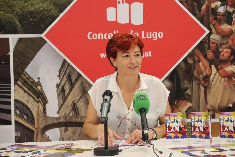 """""""O San Froilán demostrou ser, unha vez máis, a grande festa do outono galego"""" resumiu Maite Ferreiro"""