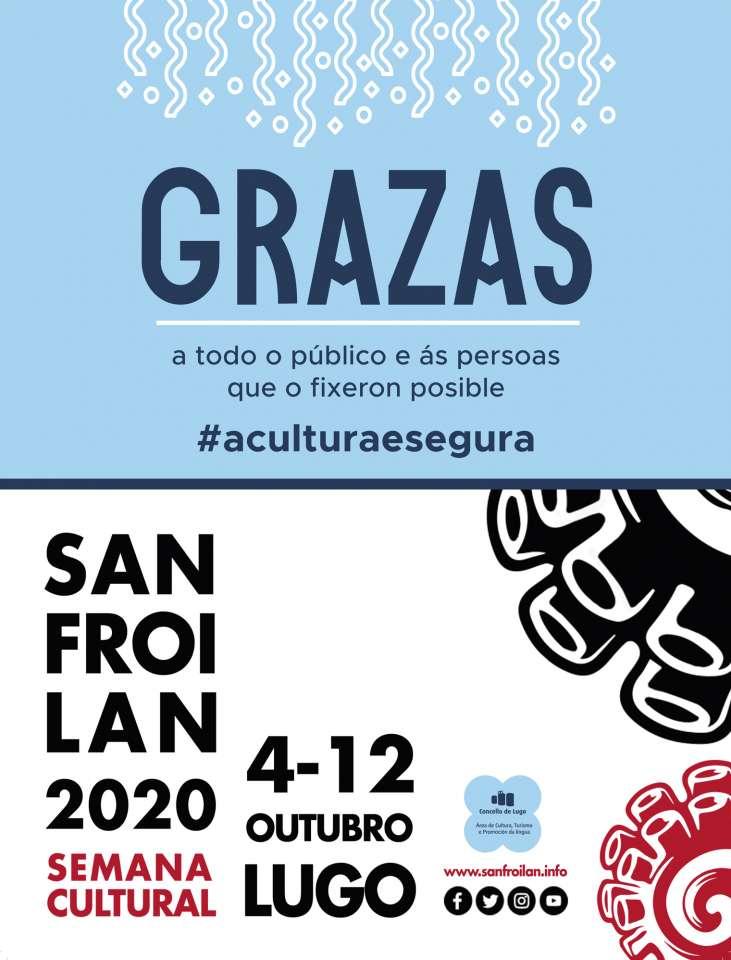 """Maite Ferreiro: """"durante a semana cultural do San Froilán a veciñanza de Lugo demostrou o seu apoio ao sector cultural"""""""