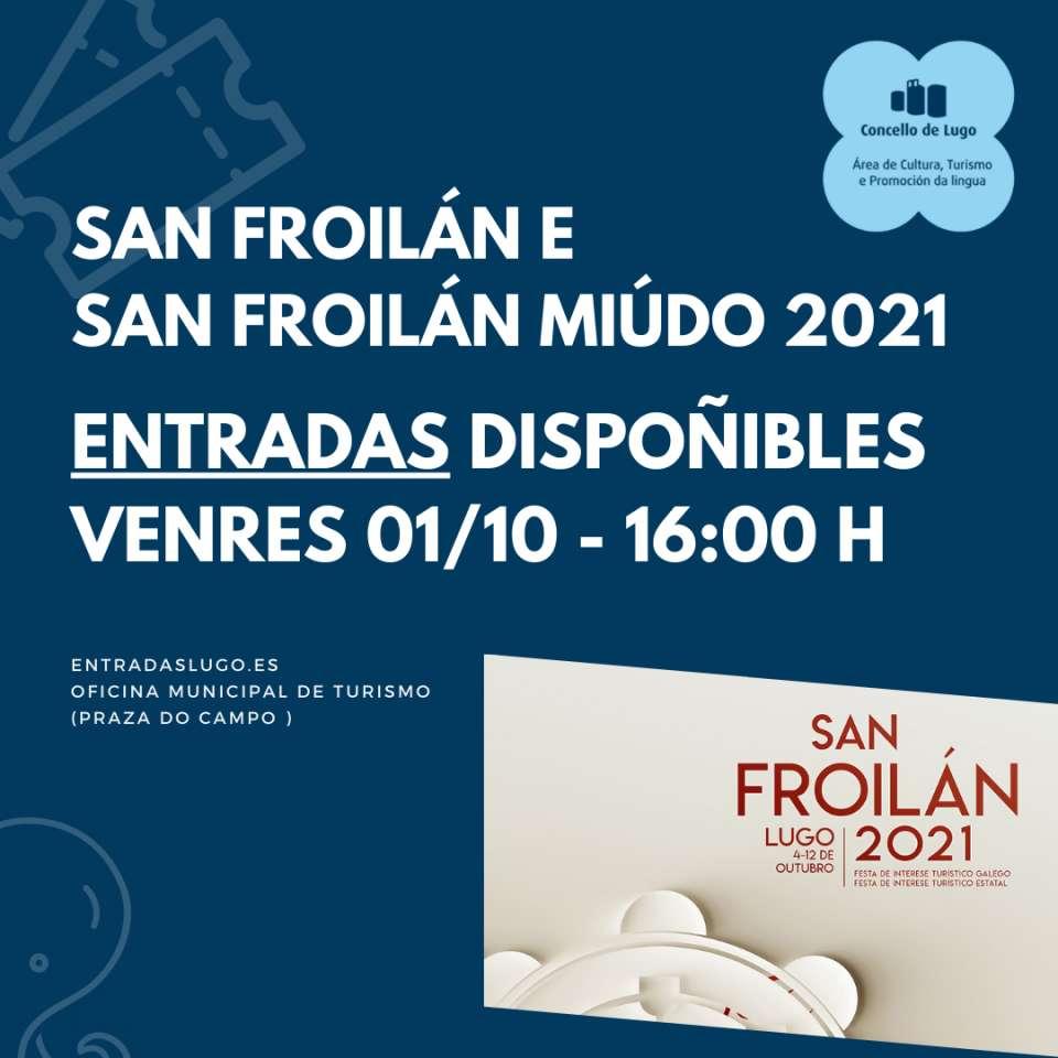 San Froilán 2021, entradas para os concertos e Miúdo