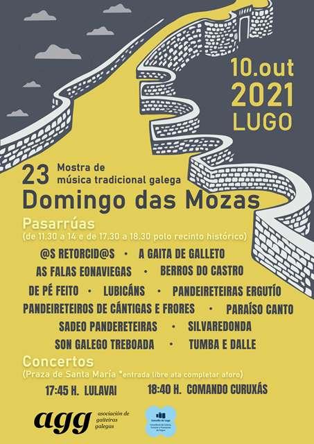 Lugo vivirá un Domingo das Mozas especial